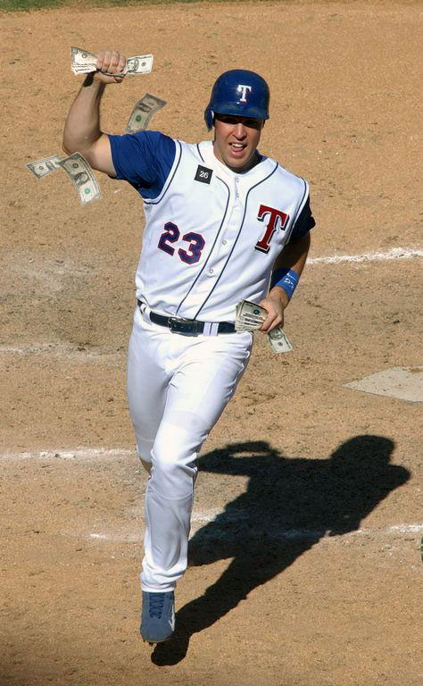 Mark Teixeira - Show me the Money!