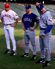 texas rangers red uniforms
