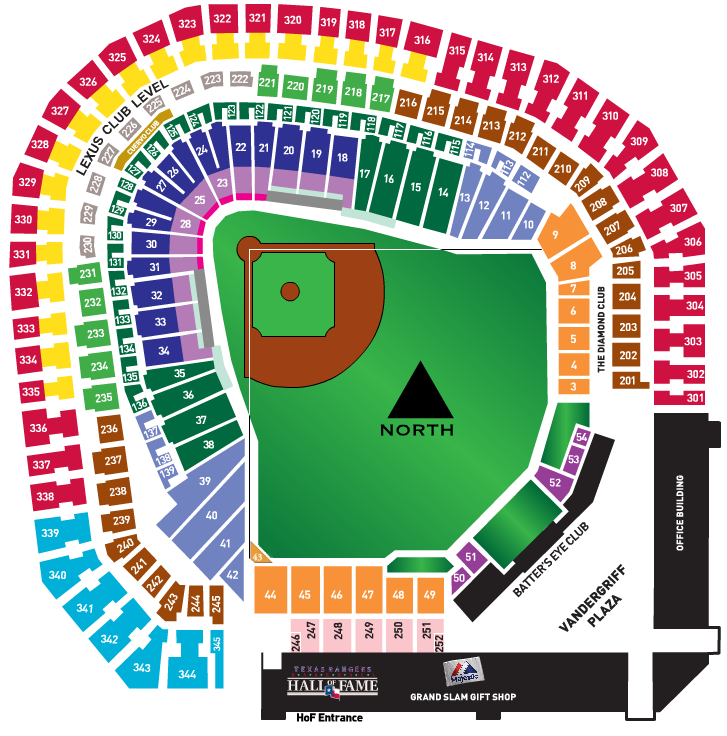Texas Rangers Seating Map Business Ideas 2013: Texas Rangers Seat Map